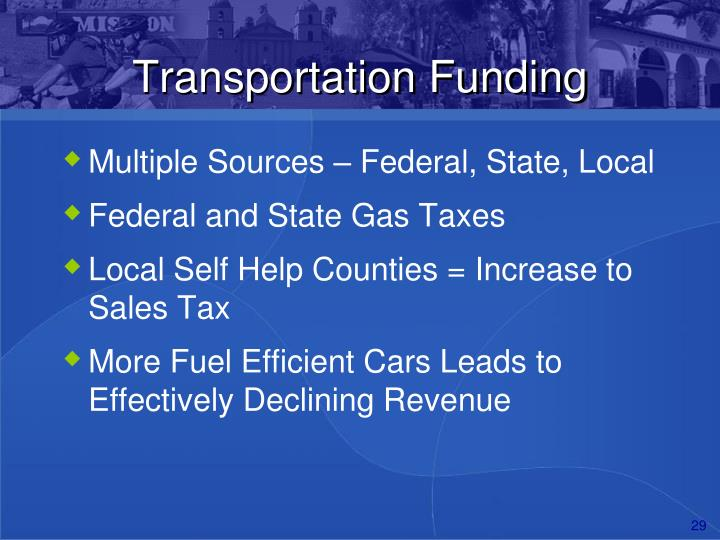 Transportation Funding