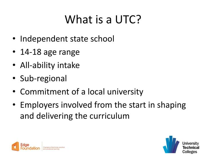 What is a UTC?