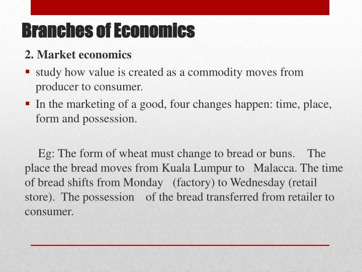 2. Market economics