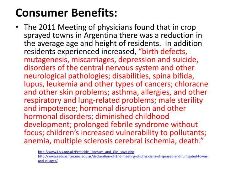 Consumer Benefits: