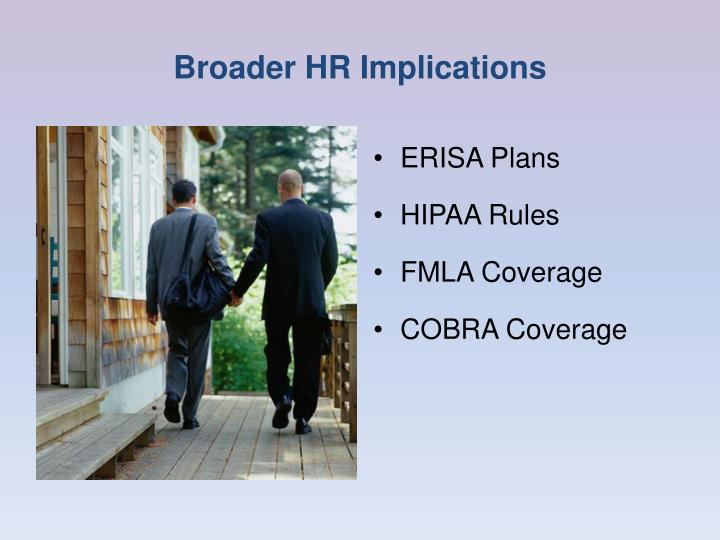 Broader HR Implications