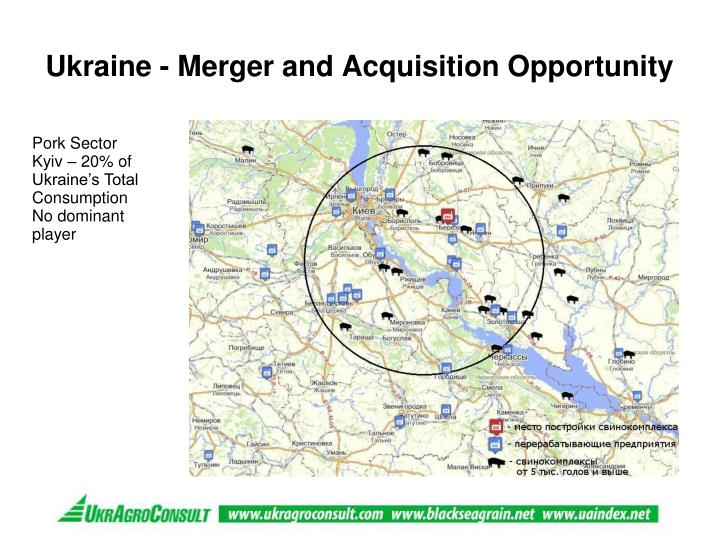 Ukraine - Merger and Acquisition Opportunity