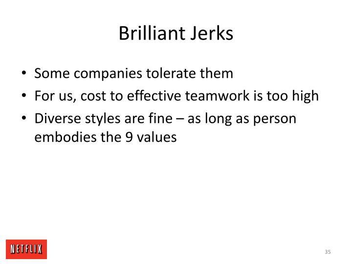Brilliant Jerks