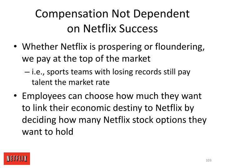 Compensation Not Dependent