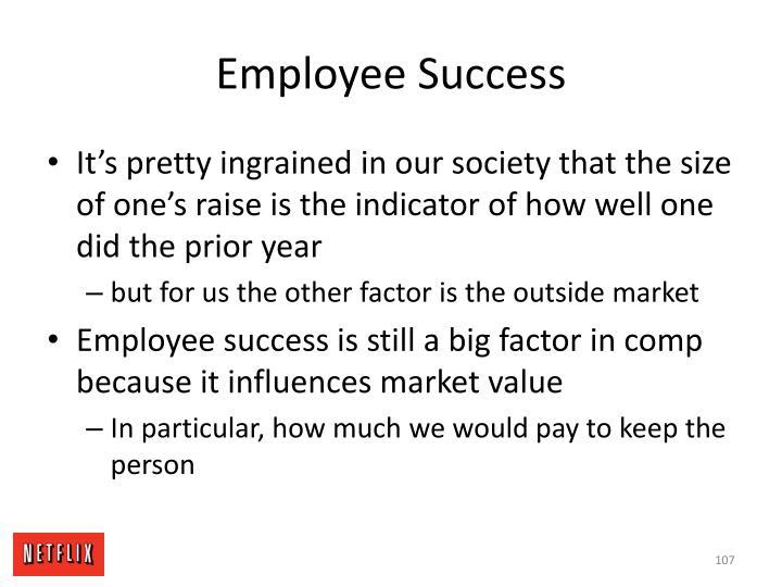 Employee Success