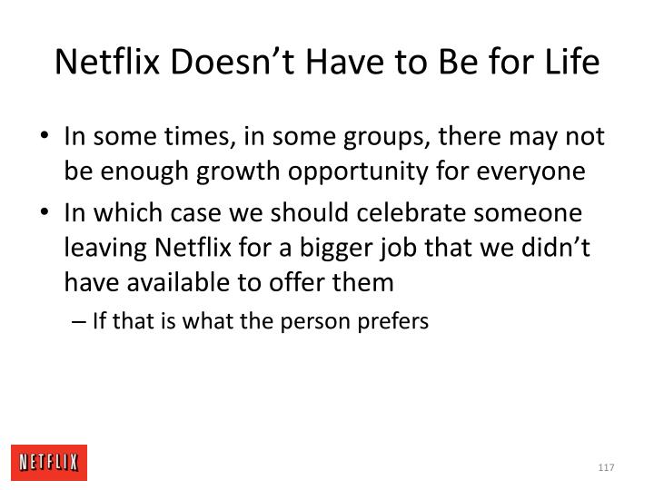 Netflix Doesn't Have to Be for Life