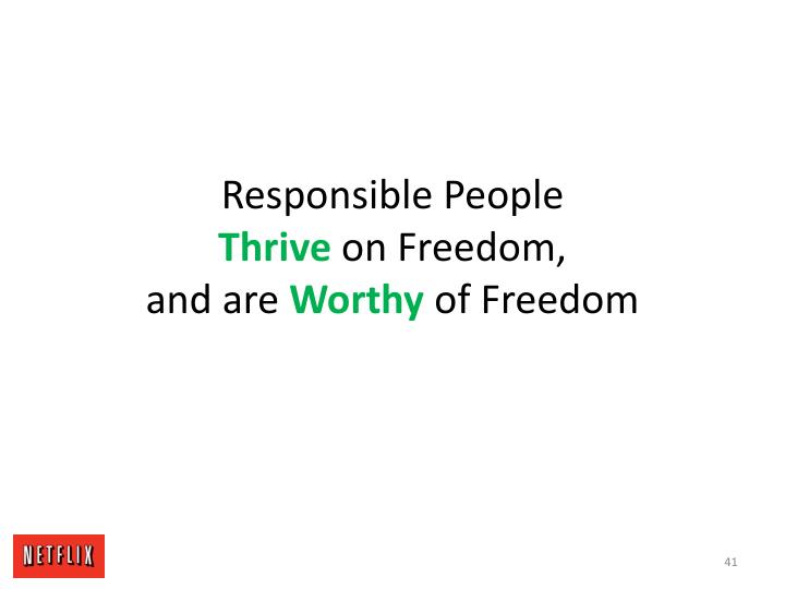 Responsible People