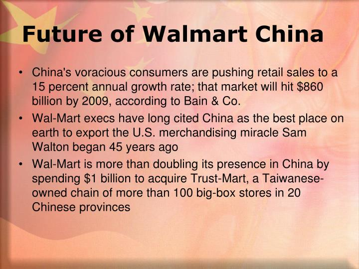 Future of Walmart China