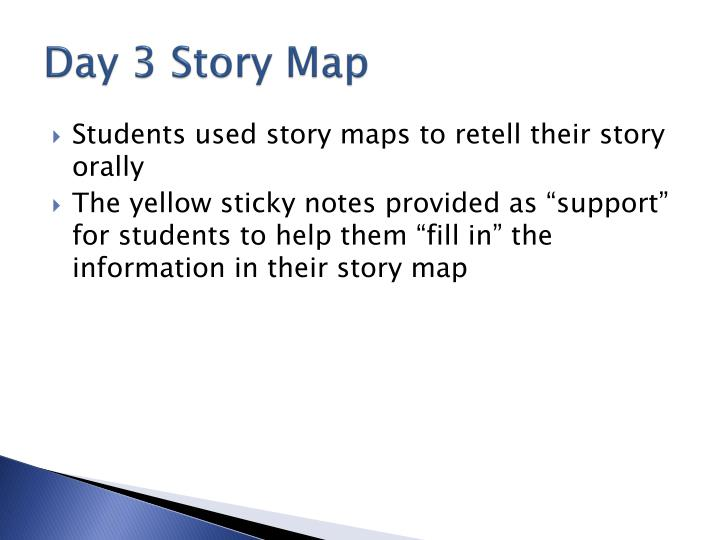Day 3 Story Map
