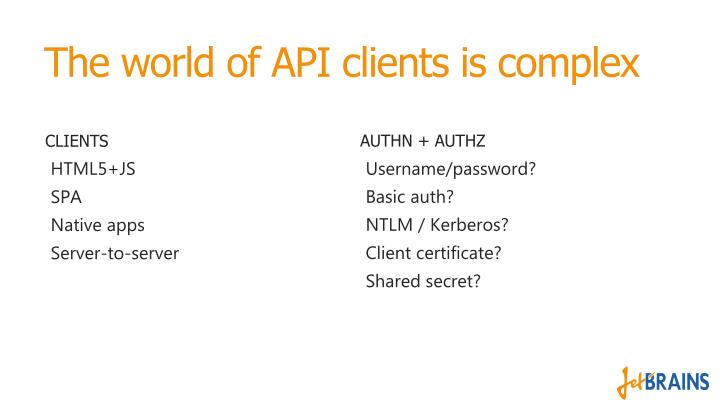 The world of API clients is complex