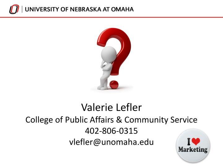 Valerie Lefler