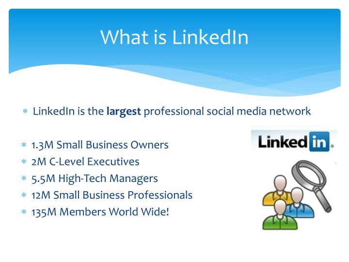 PPT - LinkedIn PowerPoint Presentation - ID:1697282