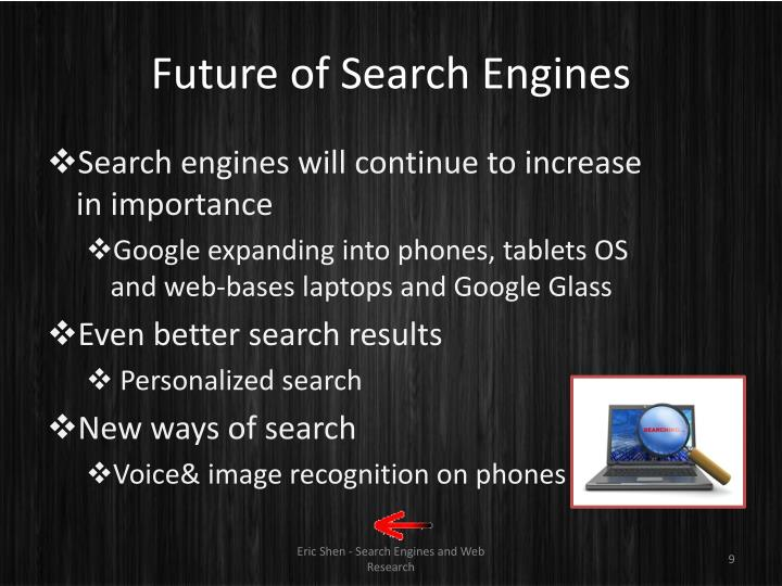 Future of Search Engines
