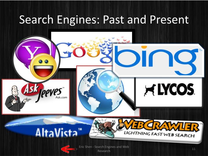 Search Engines: