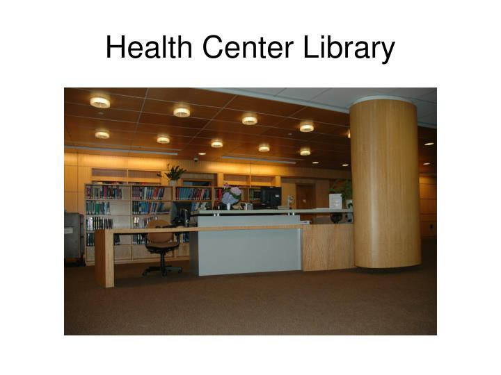 Health Center Library