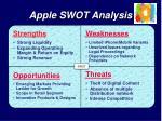 swot analysis of apple inc