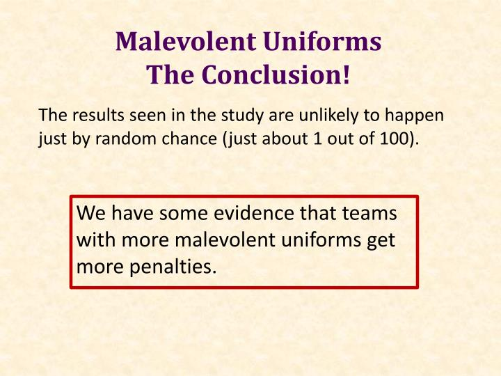 Malevolent Uniforms