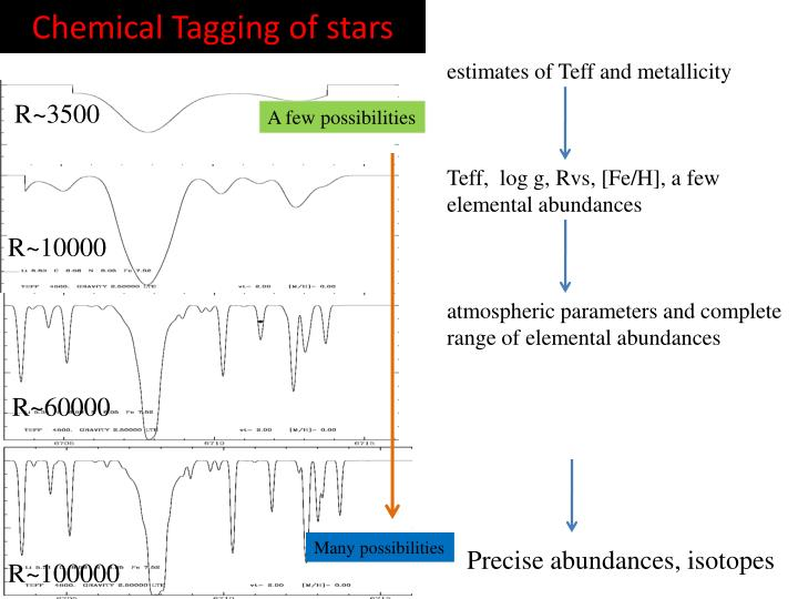 Chemical Tagging of stars