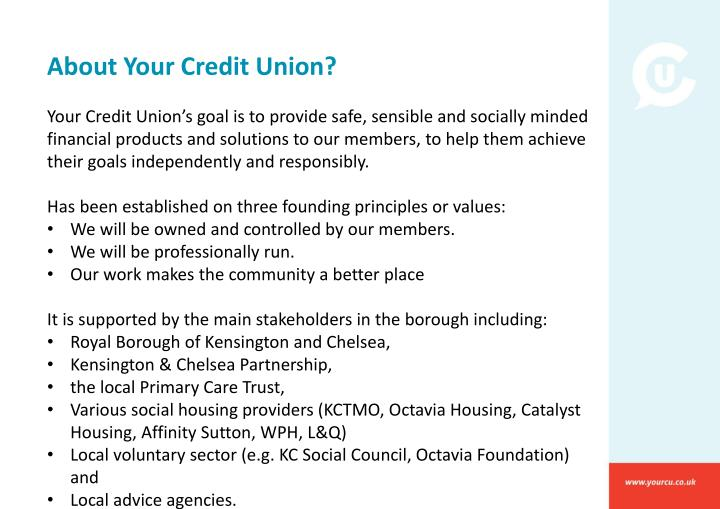 About Your Credit Union