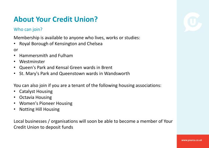 About Your Credit Union?