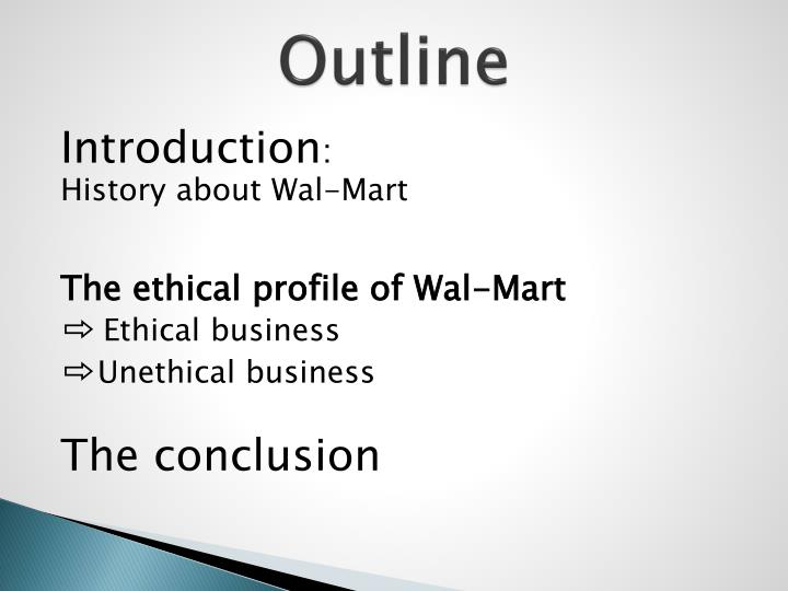 business ethics child labor in wal mart Just last week, workers at a walmart contactor warehouse company in  whether  walmart lives up to its commitments for ethical practices in its.