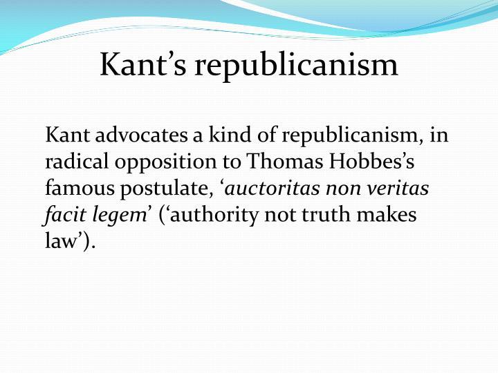 Kant's