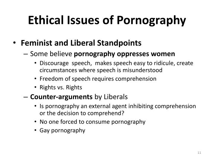 pornography and ethics A letter on pornography and business ethics written by two prominent public intellectuals—one a christian, one a muslim—sent to hotel industry executives last week.