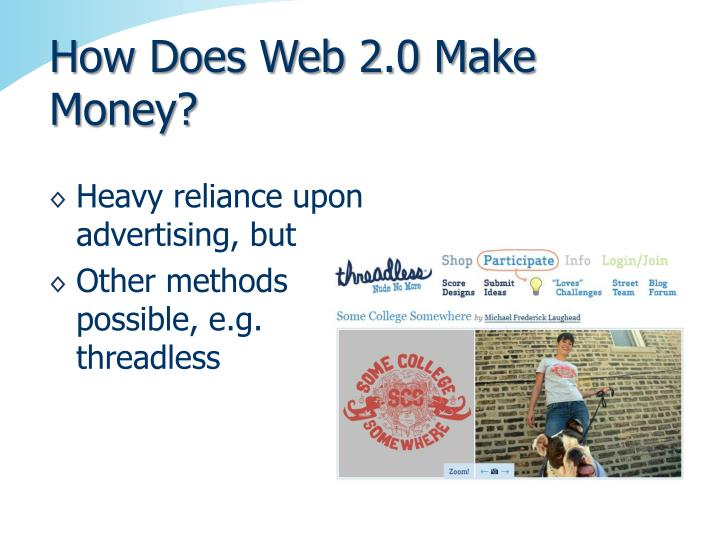 How Does Web 2.0 Make Money?