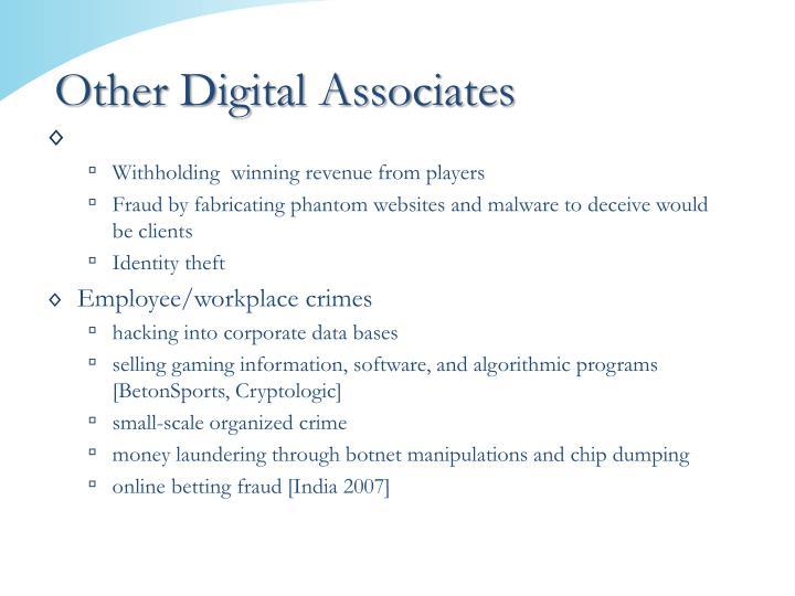 Other Digital Associates