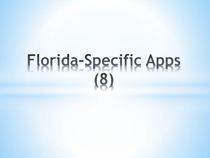 Florida-Specific