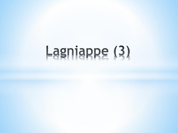 Lagniappe (3)