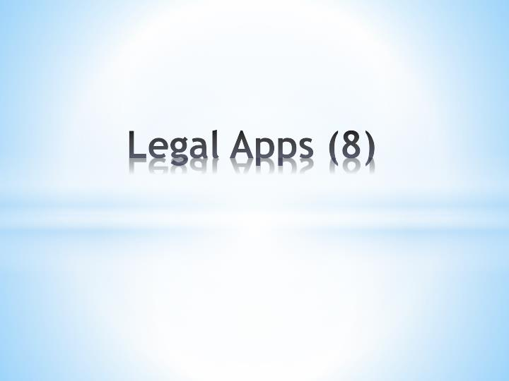 Legal Apps (8)