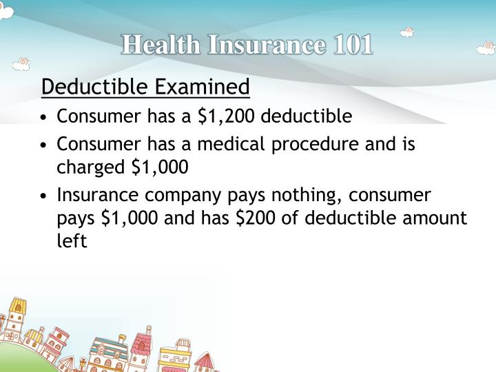 Health Insurance Deductible Emergency Room Copay