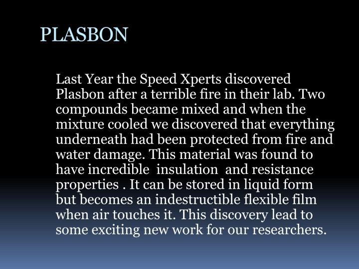 PLASBON