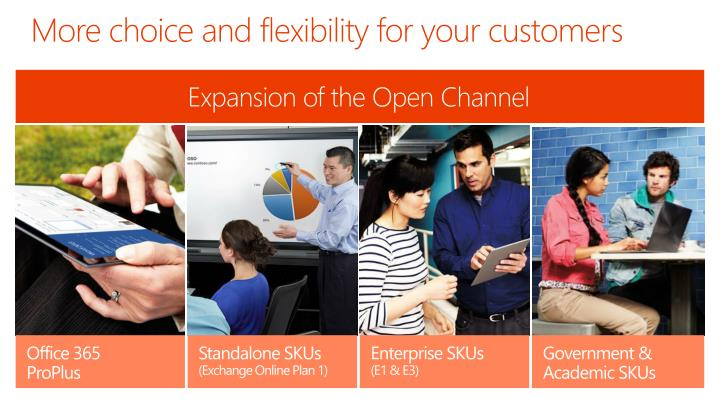 More choice and flexibility for your customers