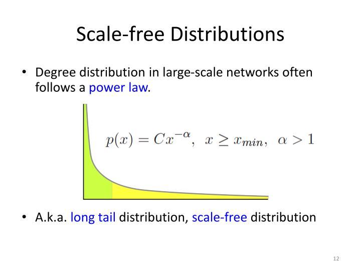 Scale-free Distributions