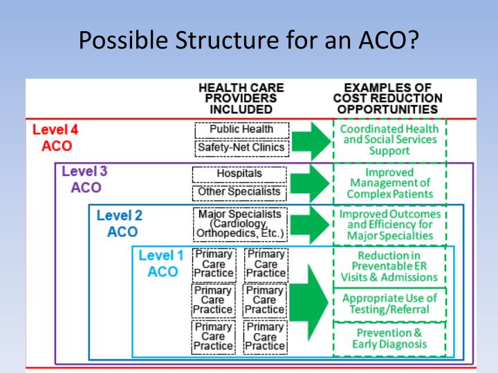 Possible Structure for an ACO?