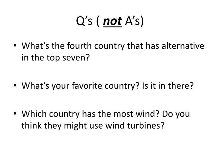 Q's (