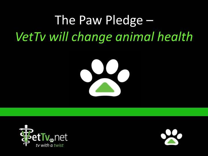 The Paw Pledge –