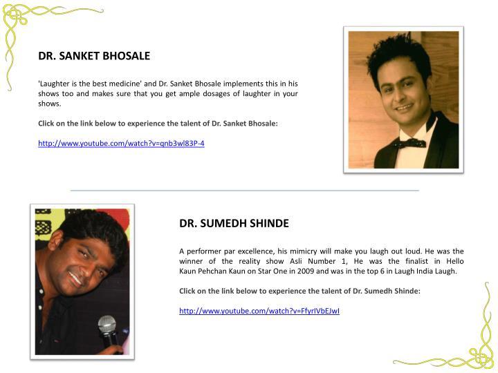 DR. SANKET BHOSALE