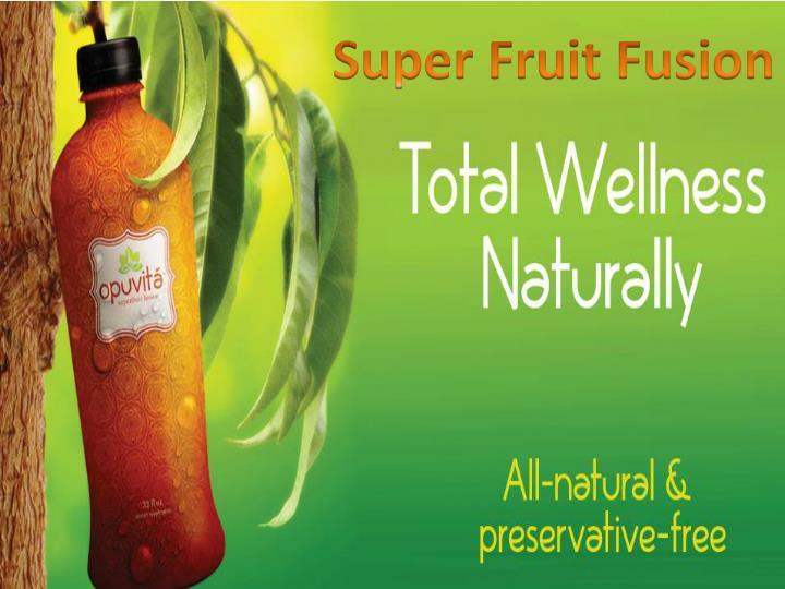 Super Fruit Fusion