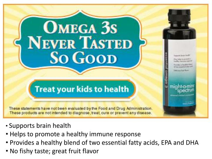 Supports brain health