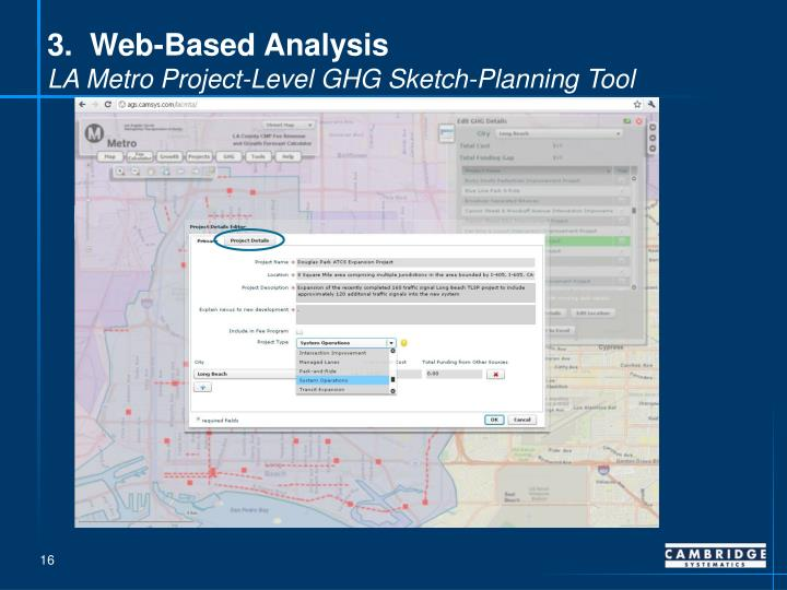 3.  Web-Based Analysis