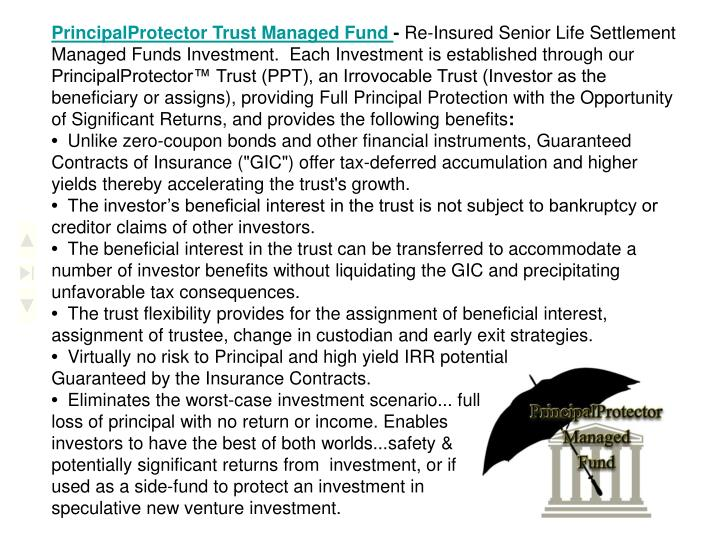 PrincipalProtector Trust Managed Fund