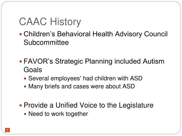 CAAC History