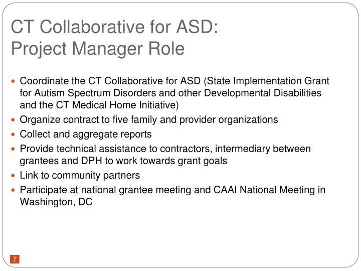 CT Collaborative for ASD: