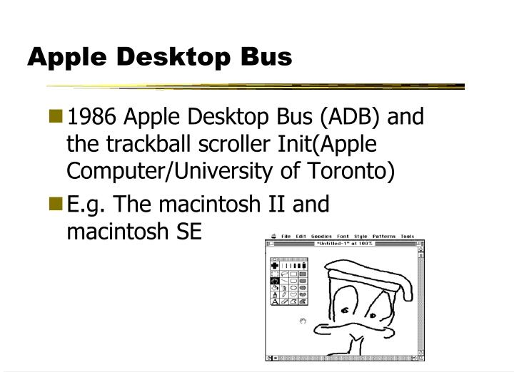 Apple Desktop Bus