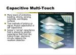 capacitive multi touch