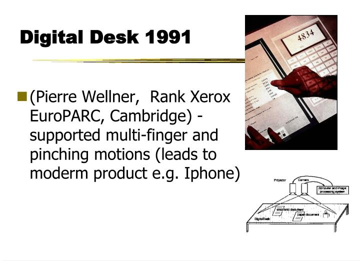 Digital Desk 1991
