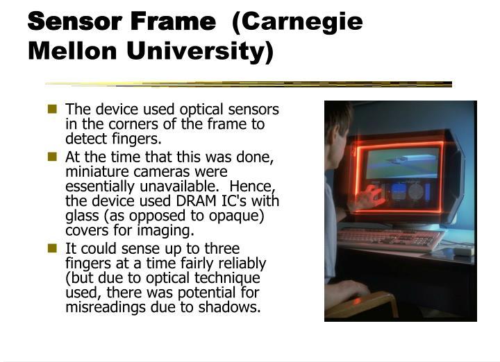 Sensor Frame